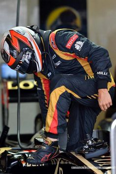 Kimi Raikkönen 2013 TOTAL Lotus Formula 1 Pilot