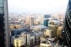 City Social view - London #JasonAtherton #CitySocial #restaurant #Tower42 #Gherkin #London