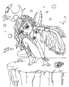 COLORING BOOK ZomBie GiRL Adult Coloring Book For You To