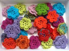 Señorita Crochet: Fleurs / Flores
