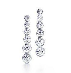 Tiffany & Co Jazz Graduated Drop Earrings - $69.98 : Tiffany Outlet Online