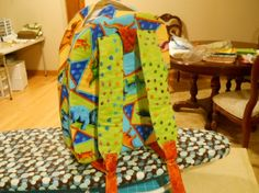 dinosaur train backpack for my grandson Dinosaur Train, Cute Backpacks, Picture Frames, Kids Room, Quilts, Blanket, Projects, Diy, Crafts