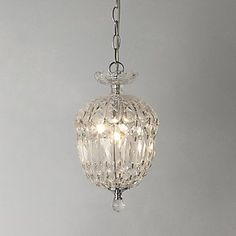 small chandelier for above the sink