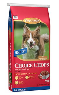 a56f74608a77 Retriever Choice Chops Hearty Beef Flavor Dog Food, 55 lb. Bag at Tractor  Supply Co.