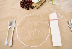 paper tablelcoth- for kids to write on or even guests to be goofy with. for thanksgiving!