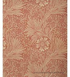 Marigold tapeter från William Morris hos Engelska Tapetmagasinet. Historisk gul/orange/röd tapet. Köp fraktfritt online eller besök butiken i Göteborg.