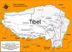 """Arpi comes up with an explosive revelation : that Nehru's India supplied rice for the invading PLA troops in Tibet in the early Chinese invasion of Tibet, which culminated in the 1962 war between India and China, has often been portrayed as the """" Tibet, Arunachal Pradesh, Historical Maps, Top Of The World, Oppression, Incredible India, Troops, Nepal, Meditation"""