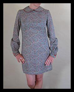 Handmade Mod/Retro Liberty Print Dress with Peter by CalleModista, £60.00
