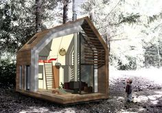 Assembled Modular Abodes - The Mobile SmartHouse is Completely Prefabricated (GALLERY)