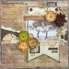 Timeless Wisdom layout by Amy Voorthuis for BoBunny featuring the Heritage Collection. #BoBunny @amyvoorthuis