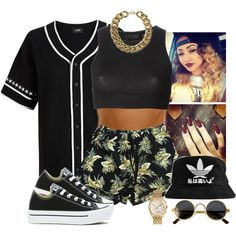Dope Girl, created by annellie on Polyvore