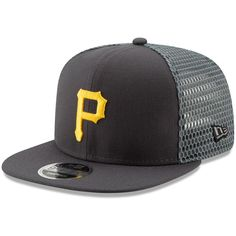 newest 82680 d2f4a Men s Pittsburgh Pirates New Era Graphite Mesh Fresh 9FIFTY Adjustable  Snapback Hat, Your Price   27.99. Major League Baseball ...