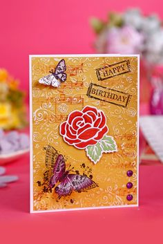 Phill Martin Magazine & Kit #05 This Phill Martin Sentimentally Yours issue comes with a gorgeous 28-piece image stamp set, a 13-piece sentiment stamp set, a 3-piece rose die set, an aperture embossing folder and a 76-element (32-page) paper pack that you are going to LOVE!