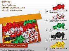 Já conhece as nossas Esferas de Chocolate? Pode personalizar o sortido e a caixa!