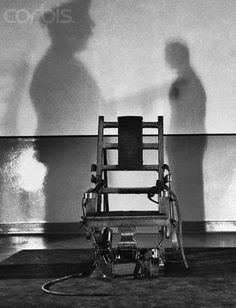 The Electric Chair at Sing Sing Prison