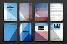 Set of Beautiful Brochures by Palau on Creative Market