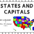 US States and Capitals Unit (200 pages!)