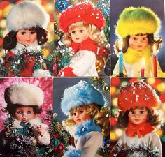 doll postcards from the