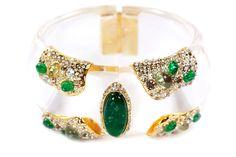 Alexis Bittar | Modernist Gold Dotted Bracelet |Kyle by Alene Too