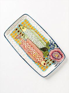 Fish-Print Platter