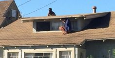Up On the Roof - escaping home invasion
