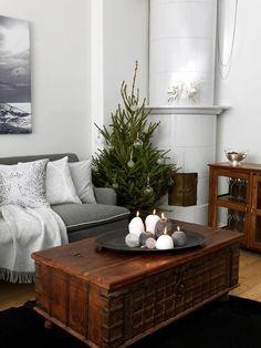 Christmas Time, Ottoman, Living Room, Chair, Interior, Table, Diy Decoration, Inspiration, Furniture