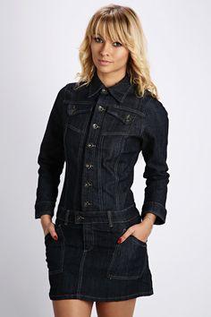 Button Front Denim Dress @ Everything5pounds.com