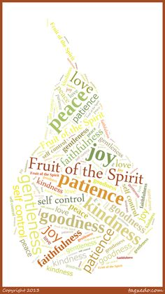 Site for creating custom word cloud art more customizable than fruit of the spirit pear word cloud art made at tagxedo where publicscrutiny Choice Image