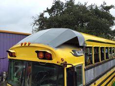 Pin by Tom Poalinelli on RV Ideas School Bus Tiny House, Old School Bus, Magic School Bus, Rv Bus, Bus Camper, School Bus Rv Conversion, Converted School Bus, Diy Camper Trailer, Camper Van Life