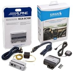 Complete Sirius Satellite Radio System for Satellite Ready ALPINE Receivers KCA-SC100 + SCC1 by Alpine. $114.92