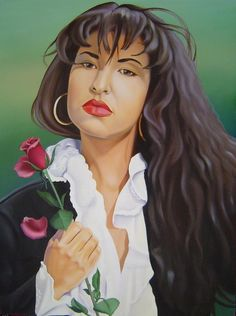 Selena by Yechiel Abramov Selena Quintanilla Perez, Selena Costume, Selena And Chris Perez, Lake Jackson, Play That Funky Music, Mexican American, Buy Art Online, Skull Tattoos, Illustration Art