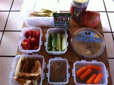 How to Pack a Healthy Lunch or Day Cooler