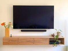 Wall Cabinets Living Room, Built In Shelves Living Room, Tv Wall Cabinets, Living Room Wall Units, Living Room Decor, Floating Wall Unit, Floating Tv Cabinet, Modern Floating Shelves, Modern Tv Unit Designs