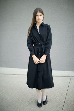 Baserange - Black Shirt Dress | BONA DRAG