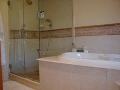 Master Bathroom renovation completed in conjunction with entire house additions and renovations.