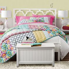 Palm Springs Patchwork Quilt   Sham #pbteen $149