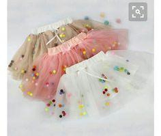 Precious Little Tutus — Your little princess will shine in this adorable Tutu Shop Now: Pom Pom Tulle Tutu Skirts and Shine like a star ✨⭐️ Tutu Skirt Kids, Baby Girl Skirts, Toddler Skirt, Baby Skirt, Baby Dress, Tutu Skirts, Toddler Tutu, Diy Tutu Skirt, Mesh Skirt