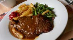 Beef Steak, Boston Restaurant, Wan-Chai, Hong Kong