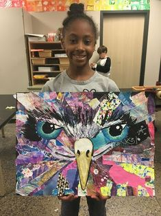 smART Class: Collage animals - a very progressive, multi step, multi media project. Arte Fashion, 6th Grade Art, Ecole Art, School Art Projects, Class Projects, Art Lessons Elementary, Art Lesson Plans, Art Classroom, Art Activities