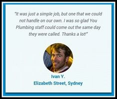 Thank you, Ivan, for your great feedback. Always grateful to serve you! Grateful, Thankful, Elizabeth Street, Coming Out, Plumbing, Thursday, Sydney, Going Out, Gender Reveal Parties