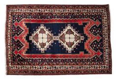 (11DA) A Sirjan Rug n\A Sirjan Rug Decorative Arts > / MAD on Collections - Browse and find over 10,000 categories of collectables from around the world - antiques, stamps, coins, memorabilia, art, bottles, jewellery, furniture, medals, toys and more at madoncollections.com. Free to view - Free to Register - Visit today. #Rugs #Carpets #Textiles #MADonCollections #MADonC