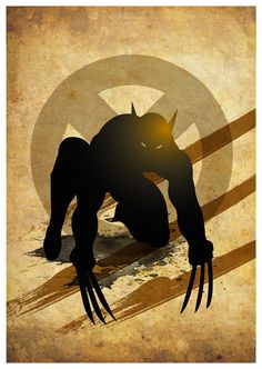 Vintage Wolverine Poster A3 Prints by MyGeekPosters on Etsy