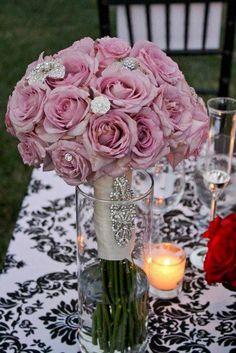 Jewels in flowers