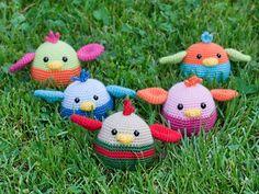 amigurumi pajaritos. #crochet #pattern