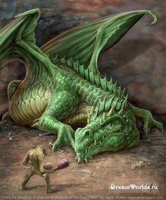 Зеленый дракон (ДнД) | Бестиарий