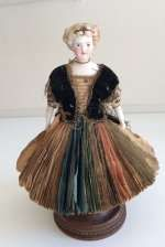 Early parian Fortune-Telling Doll for the French Market.