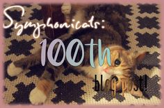 Symphonicats: 100. Let's have some more ice cream! - Symphonicats' 100th blog post!!! #cats #blogging #lifestyle