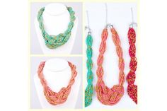 Chic & Colorful Glass Bead Knot Necklace - Just $8.99! - http://www.pinchingyourpennies.com/chic-colorful-glass-bead-knot-necklace-just-8-99/ #Glassbead, #Knotnecklace, #Pickyourplum, #Pinchingyourpennies