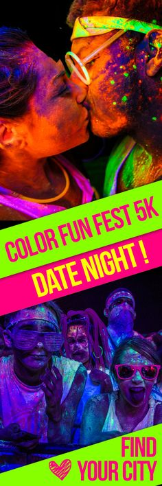 Surprise Your Sweetheart with tickets to Color Fun Fest 5K! We'll have $5 OFF tickets in the month of February until 2/15/15 with promo code 'VALENTINE' - get your tickets today! Click the photo to find your city :)