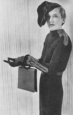 Elsa Schiaparelli | Robe d'apres-midi, 1935